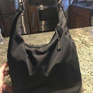 Nylon coach bag